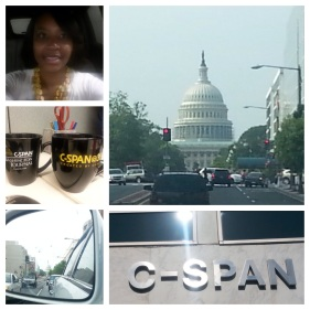 Memories from time as temp producer with C-SPAN