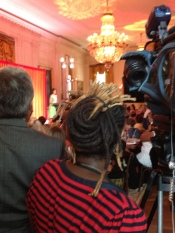 Covering the inaugural Kids State Dinner at the White House