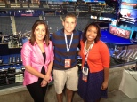 Morning crew at the 2012 DNC