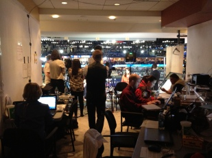 Afternoon crew at the 2012 DNC