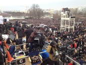 Field producing President Obama's second inauguration ceremony.